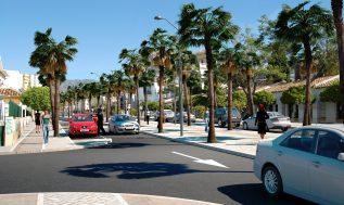 Recreación calle Alcalde Clemente Díaz